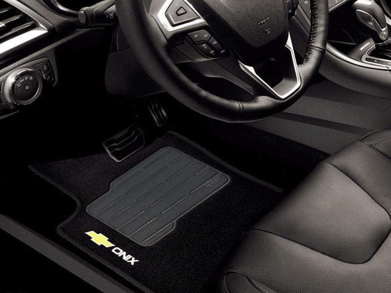 Jogo de Tapete Carpete para Chevrolet Onix Premier Turbo Hatch