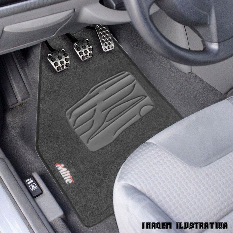 Jogo de Tapete Carpete para Fiat Uno Mille Fire - Grafite