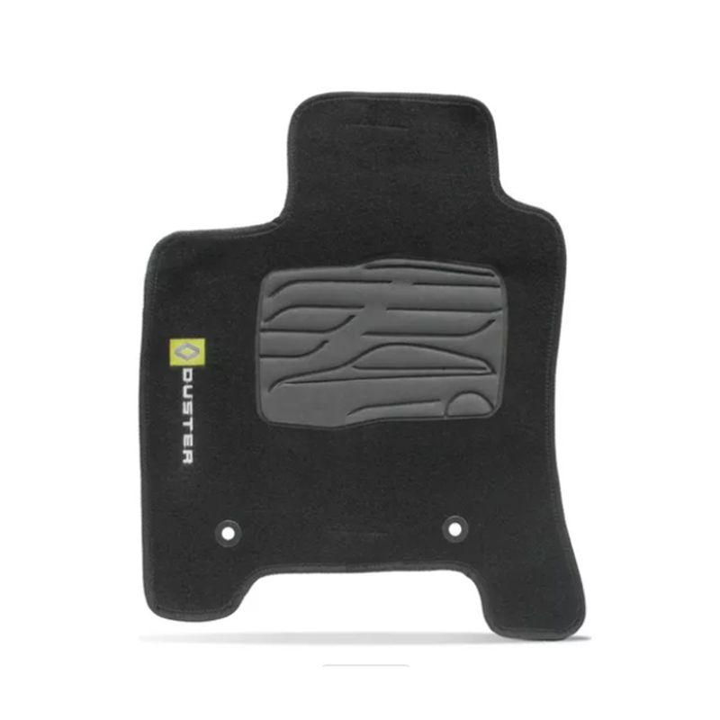 Jogo de Tapete Carpete para Renault Duster - Preto -