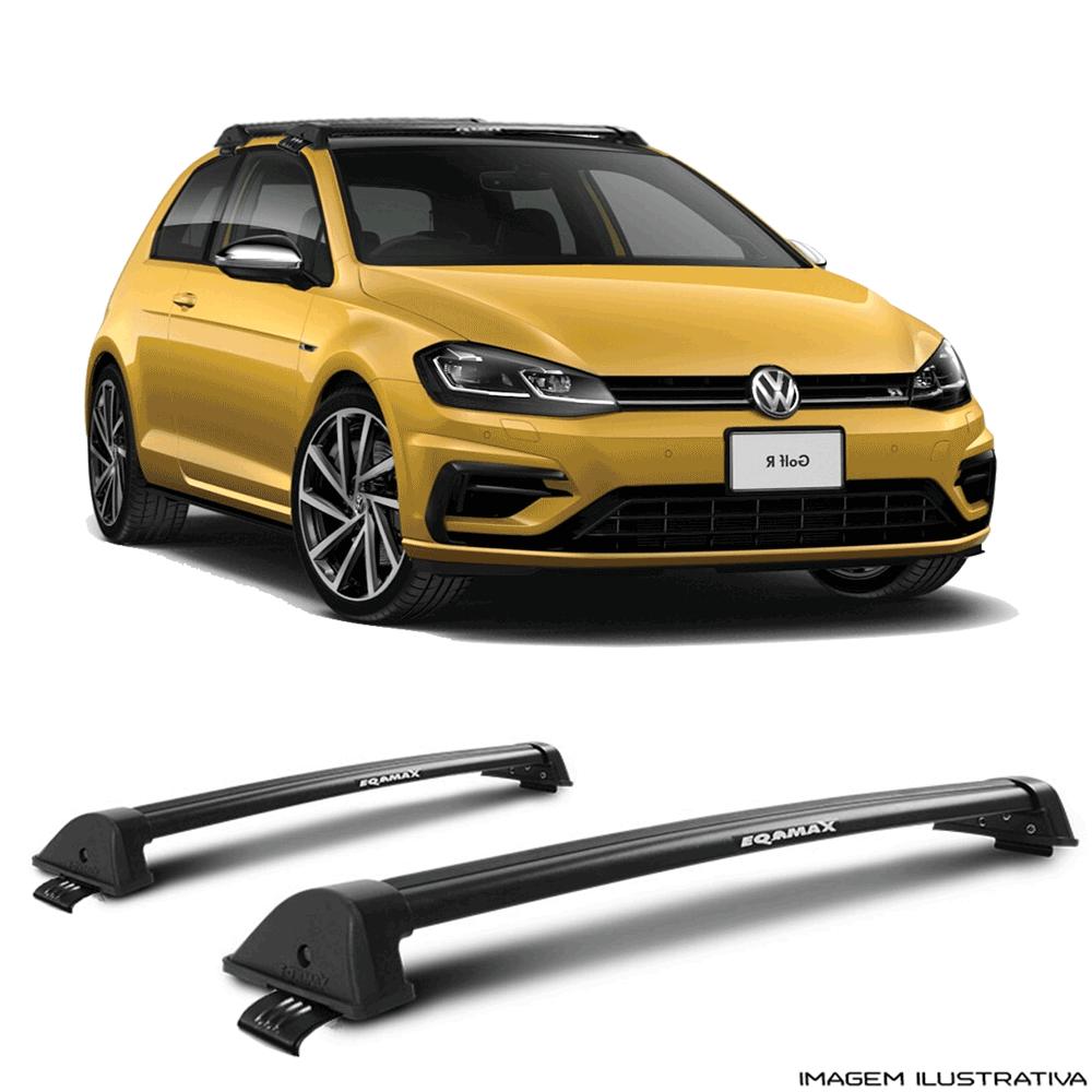 8675d24db Rack De Teto New Wave Eqmax Volkswagen Golf 2015 a 2018 - Mania de Carro ...