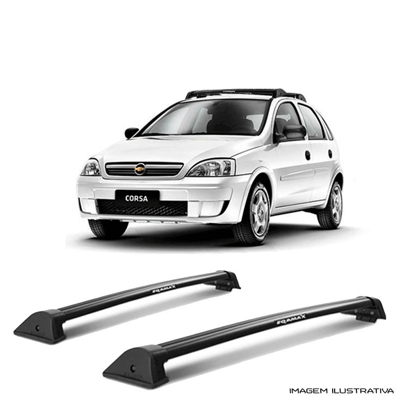 Rack De Teto Wave Eqmax Chevrolet Gm Corsa 2002 a 2014  a