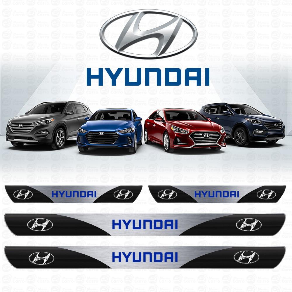 Soleira Resinada Personalizada Hyundai