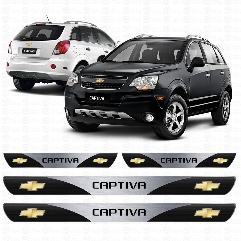 Soleira Resinada Personalizada para Chevrolet Captiva