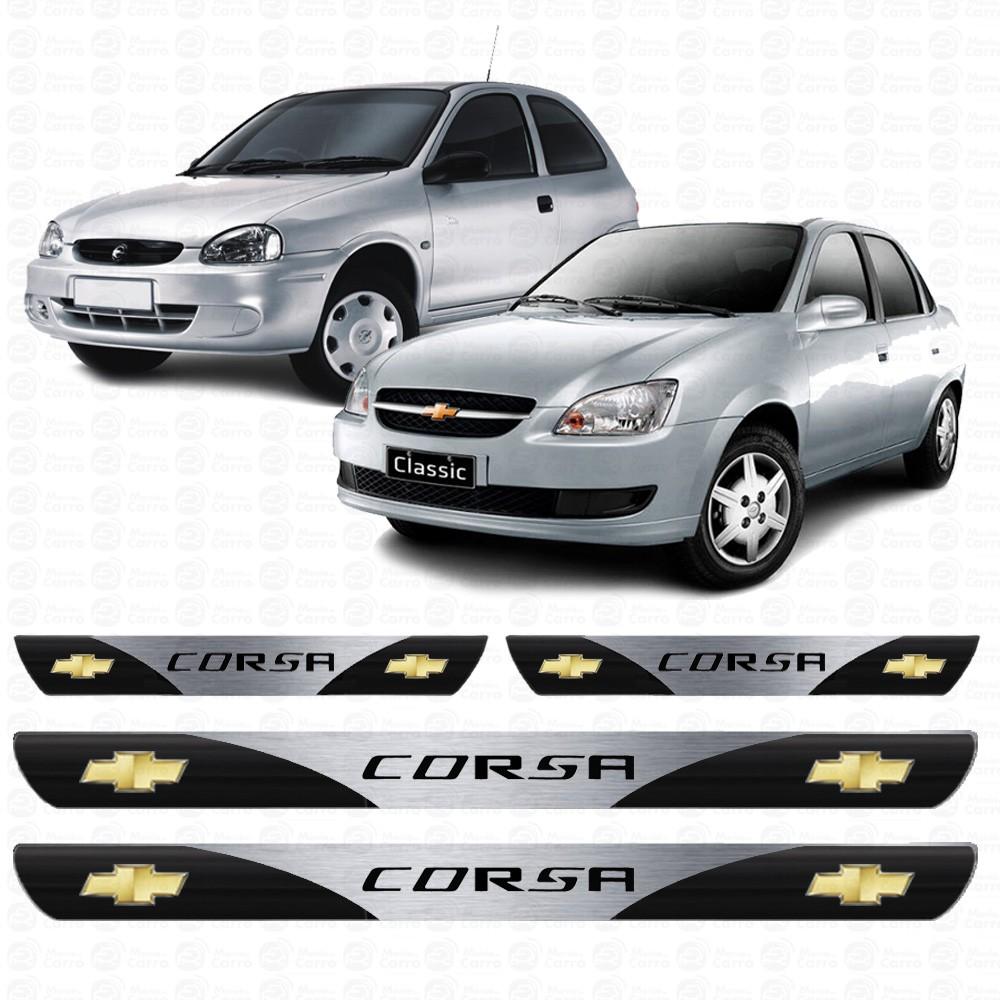 Soleira Resinada Personalizada para Chevrolet Corsa