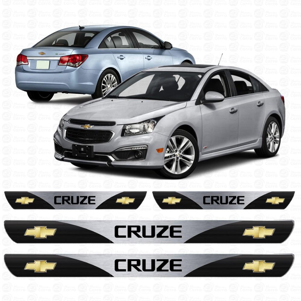 Soleira Resinada Personalizada para Chevrolet Cruze