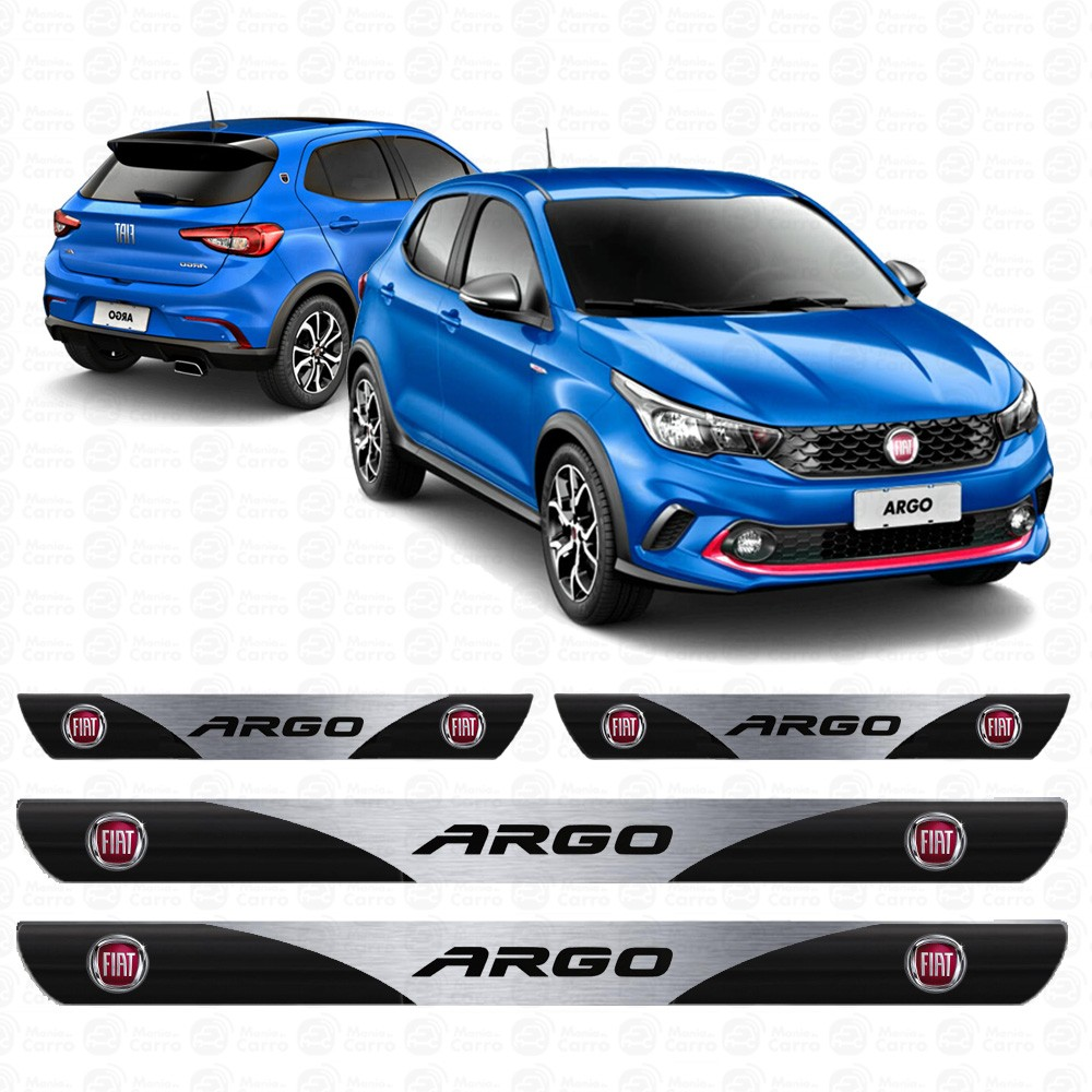 Soleira Resinada Personalizada para Fiat Argo