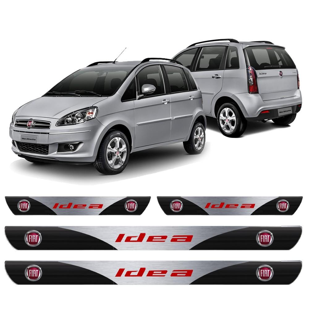 Soleira Resinada Personalizada para Fiat Idea