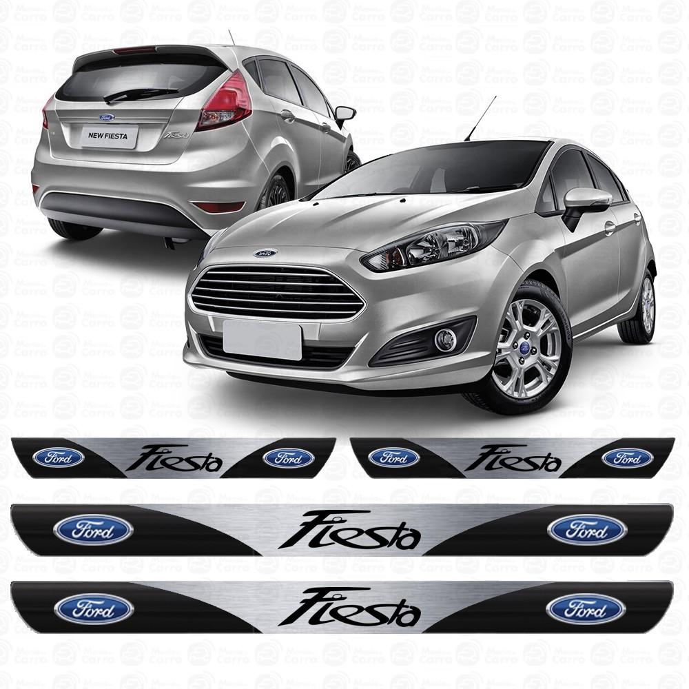 Soleira Resinada Personalizada para Ford Fiesta