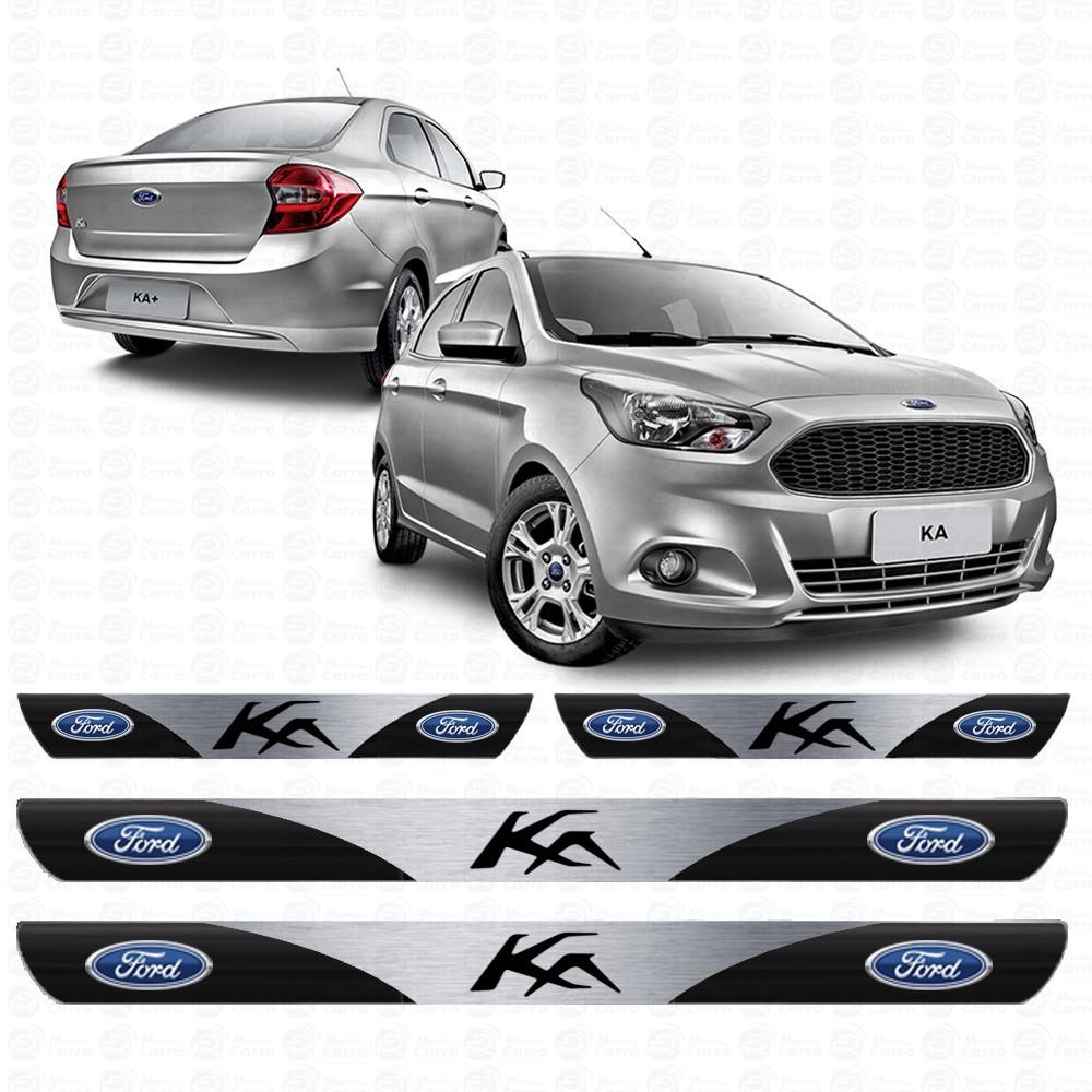 Soleira Resinada Personalizada para Ford Ka