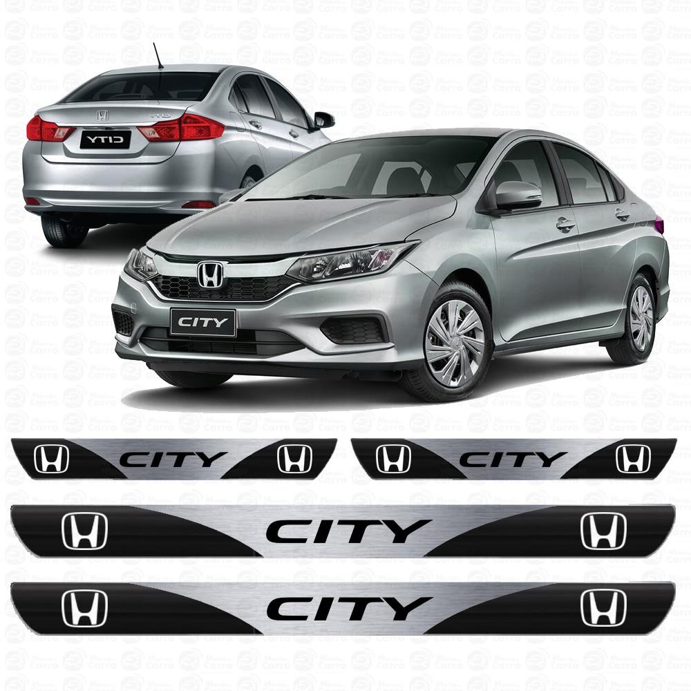 Soleira Resinada Personalizada para Honda City