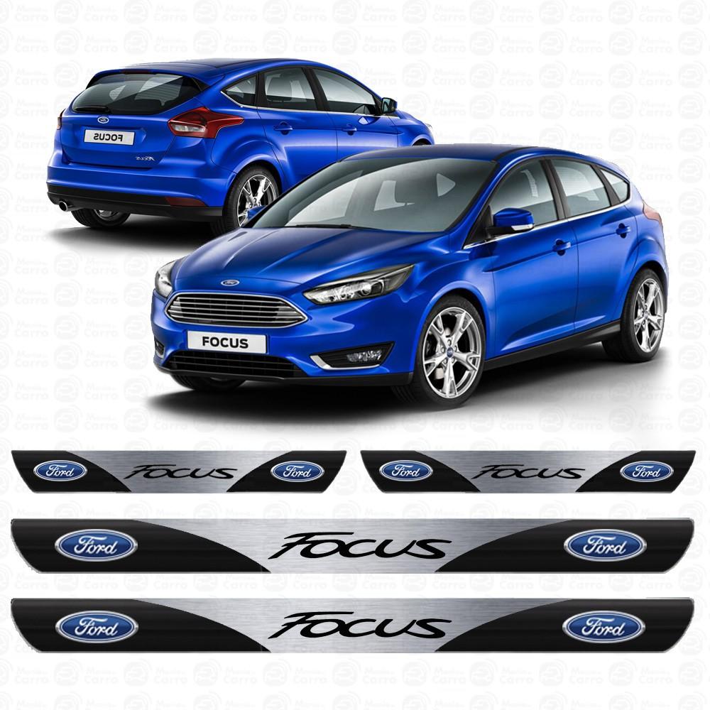 Soleira Resinada Personalizada para Novo Ford Focus