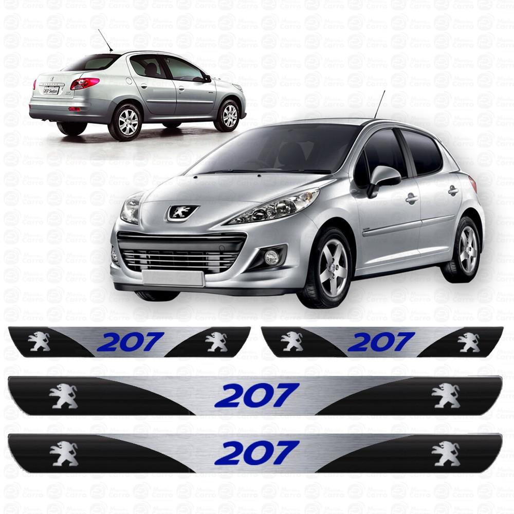 Soleira Resinada Personalizada para Peugeot 207