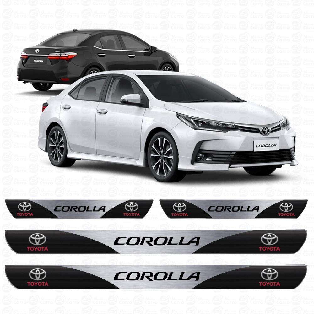 Soleira Resinada Personalizada para Toyota Corolla
