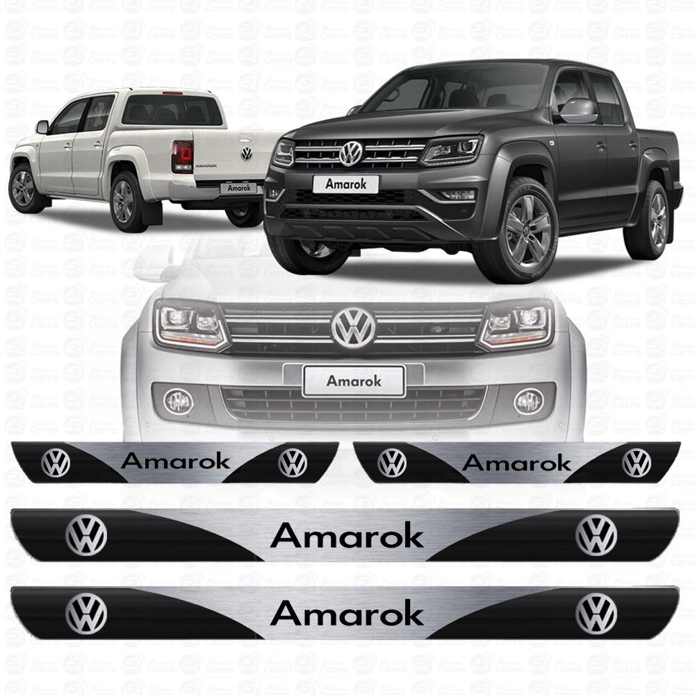 Soleira Resinada Personalizada para Volkswagen Amarok
