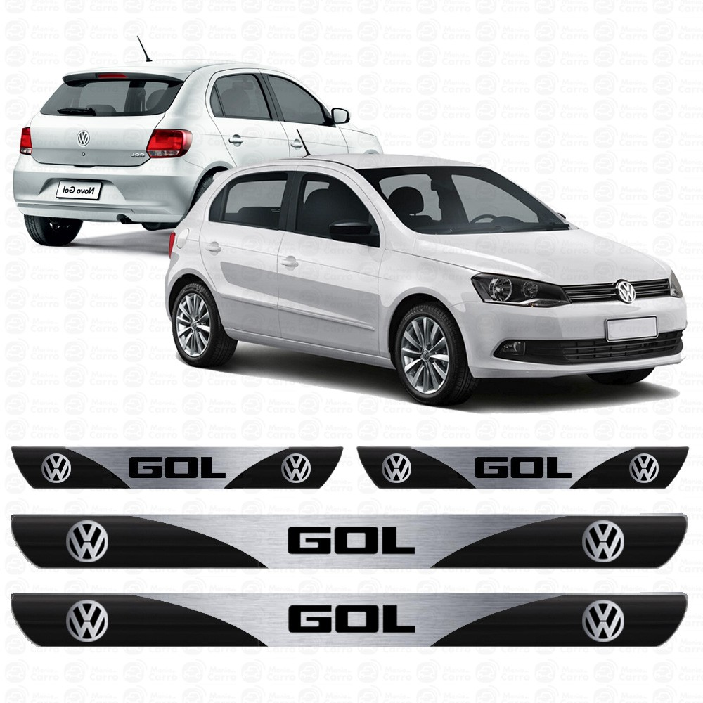 Soleira Resinada Personalizada para Volkswagen Gol G6