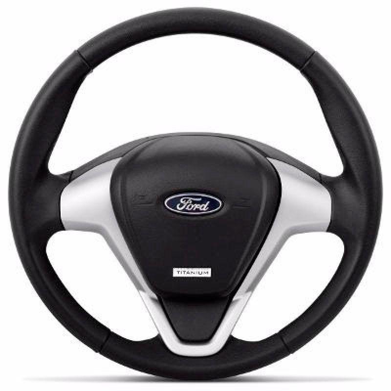 Volante Esportivo Ford Titanium para Ka, Escort, Courier, Ecoort, Focus e outros