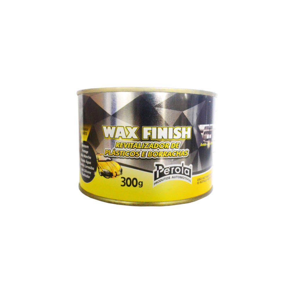 WAX FINISH REVITALIZADOR DE PLASTICOS E BORRACHAS PEROLA 300g