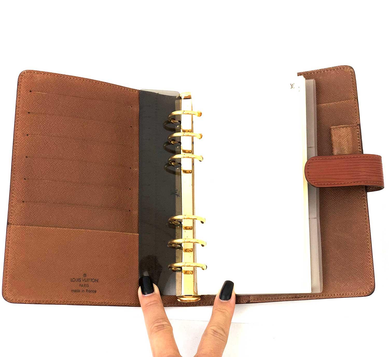 Agenda Louis Vuitton Epi Caramelo