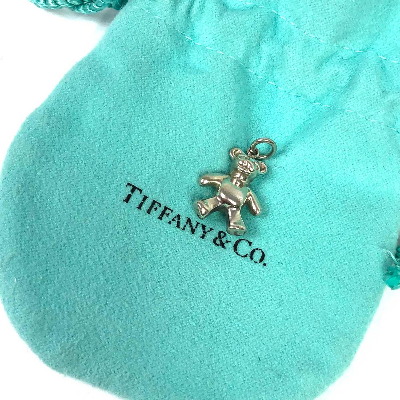 Berloque Tiffany Prata Urso