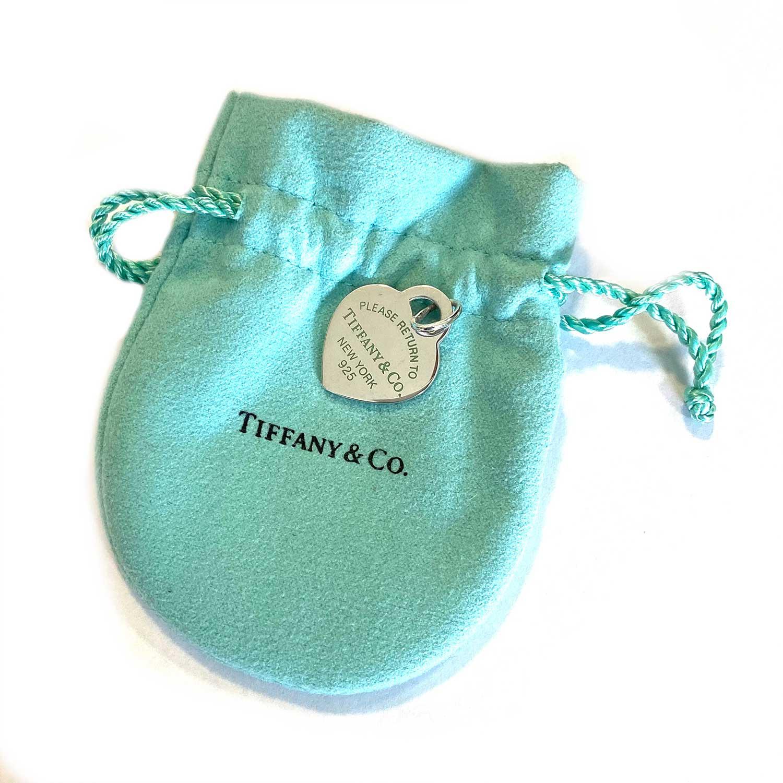 Berloque Tiffany&Co. Coração Please Return To