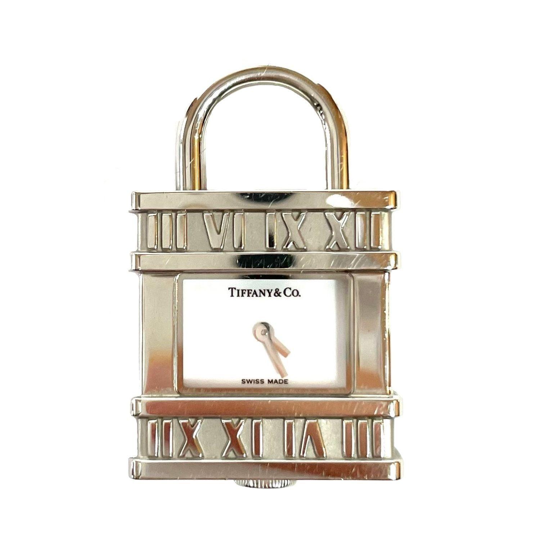 Berloque Tiffany&CO Relógio Prateado