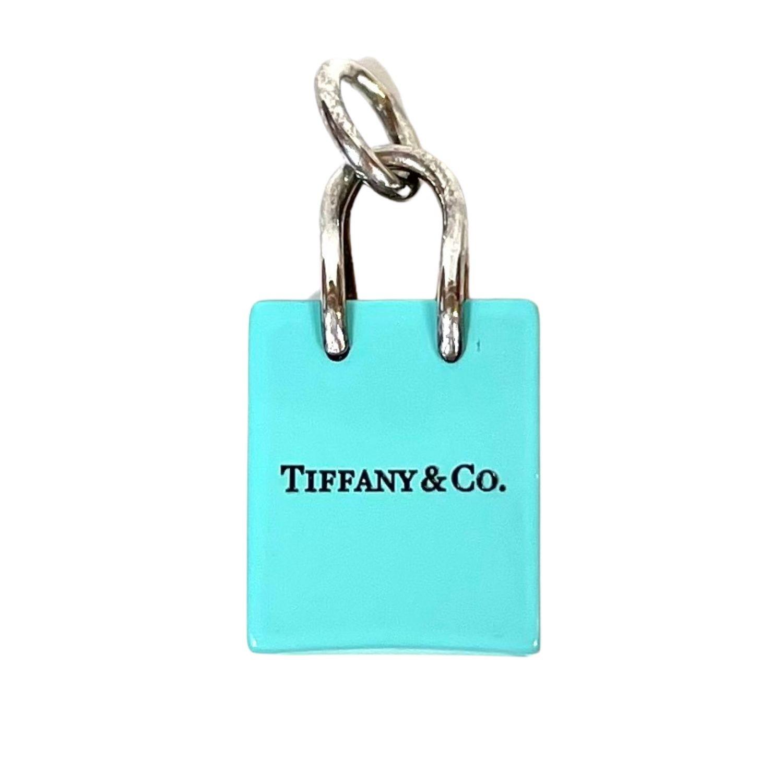 Berloque Tiffany&CO Sacola De Compra Verde