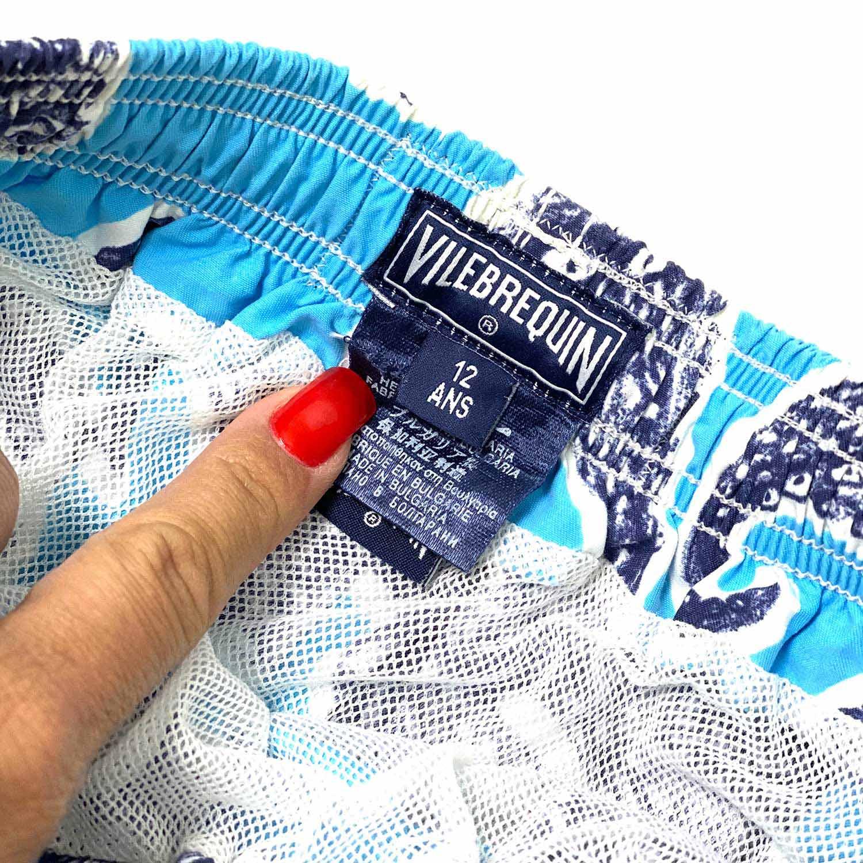 Bermuda Vilebrequin Polvo Azul