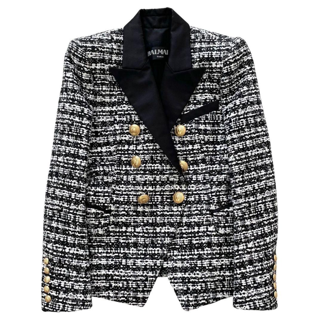 Blazer Balmain Tweed