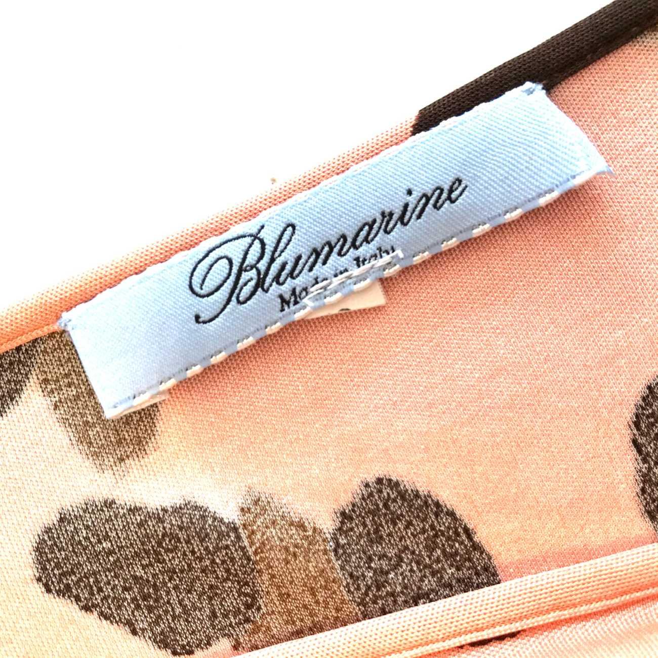 Blusa Blumarine Animal Print