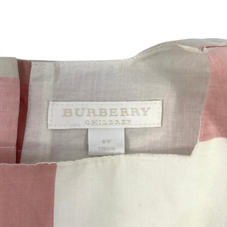 Blusa Burberry Xadrez