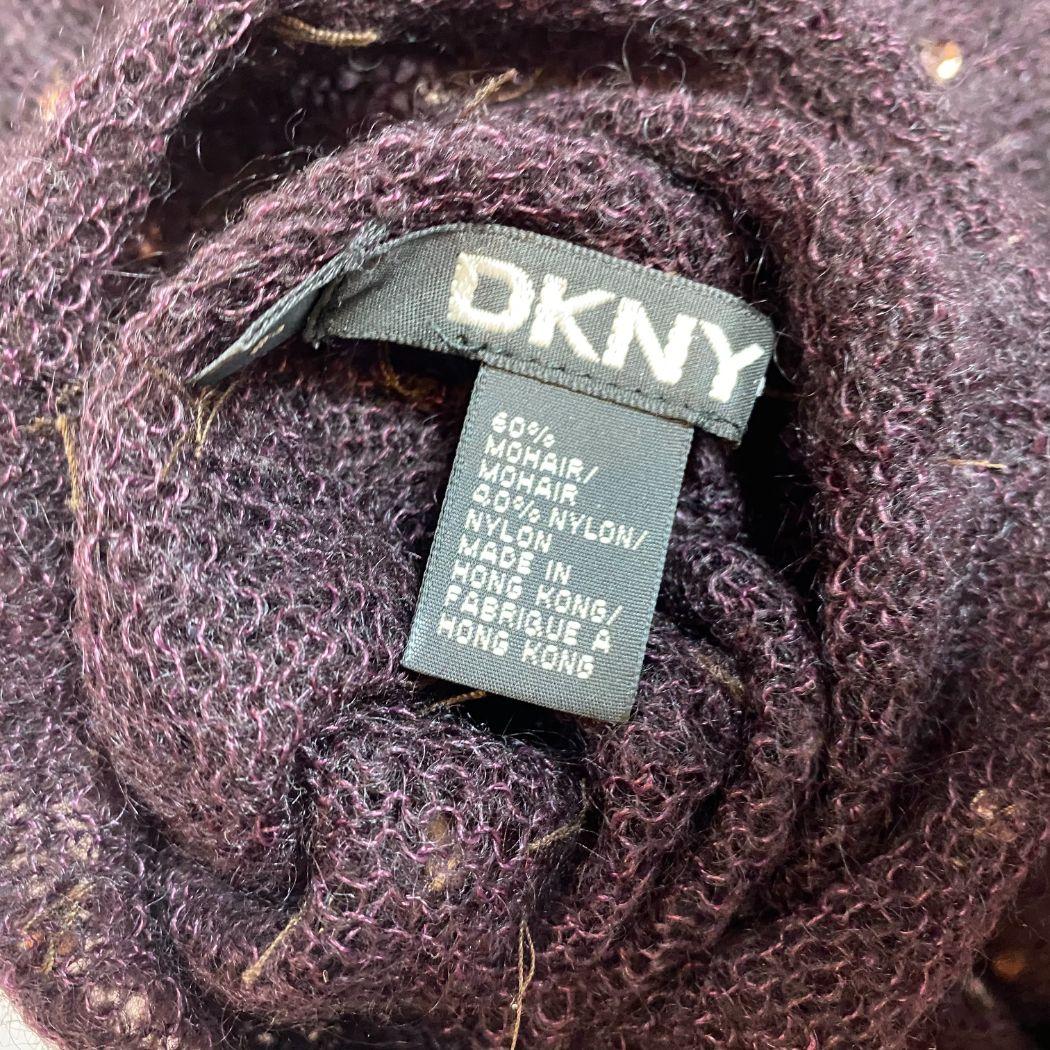 Blusa DKNY Tricot Vinho