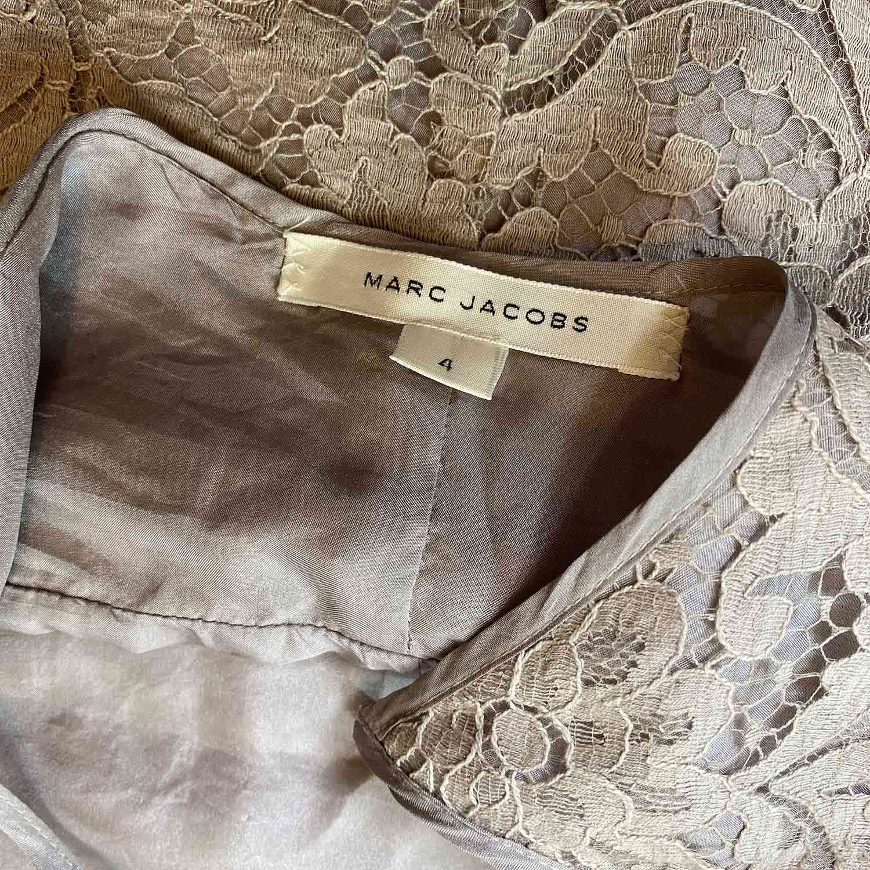 Blusa Marc Jacobs Cinza e Lilás