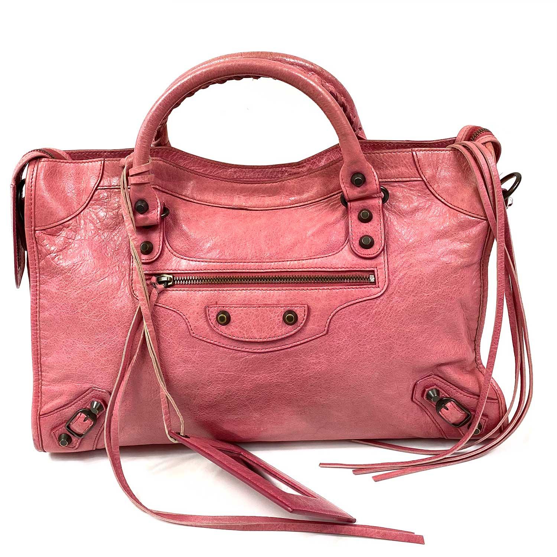 Bolsa Balenciaga First Rosa