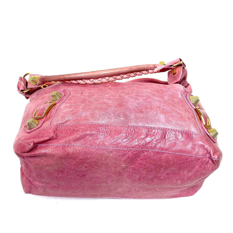 Bolsa Balenciaga Hobo Rosa