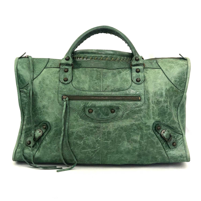 Bolsa Balenciaga Work Verde