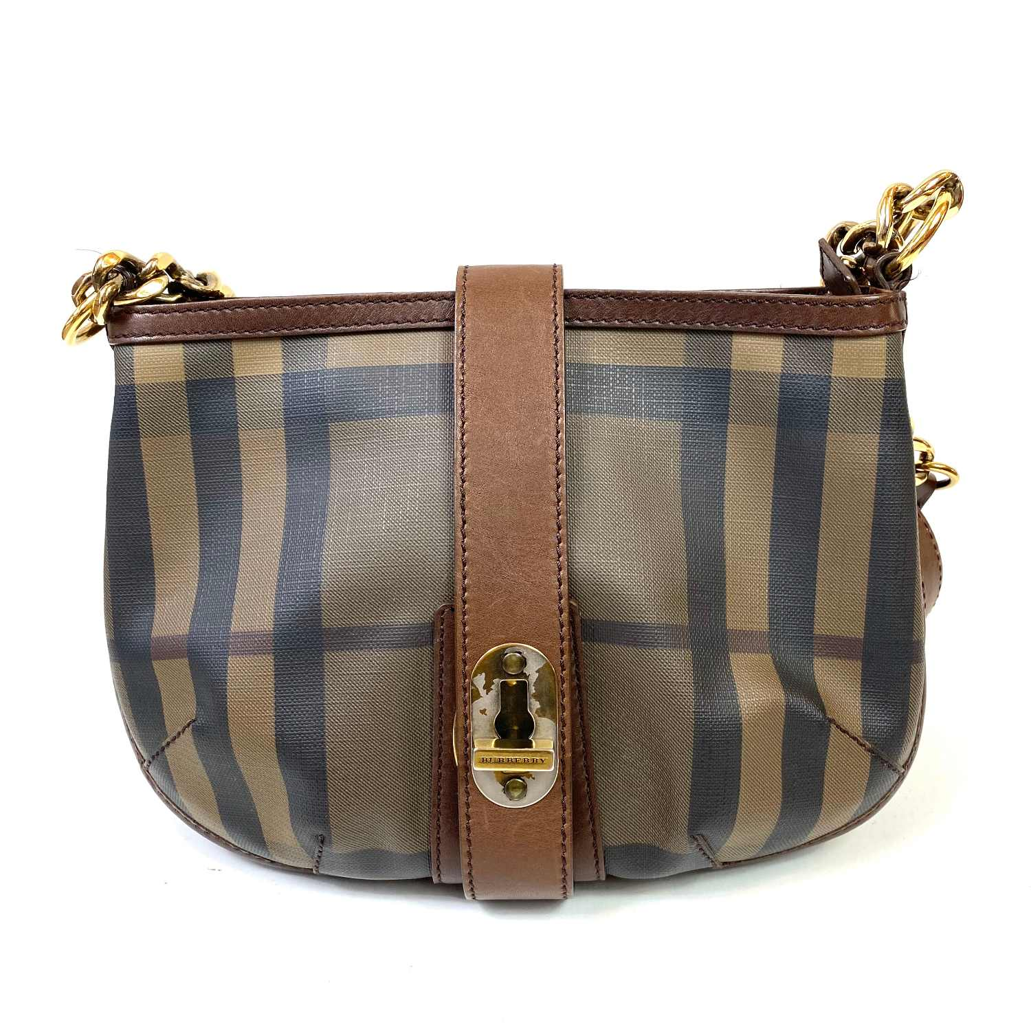 Bolsa Burberry Smoked Check Crossbody