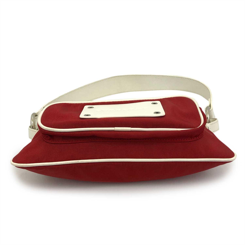 Bolsa Burberry Vermelha e Branca