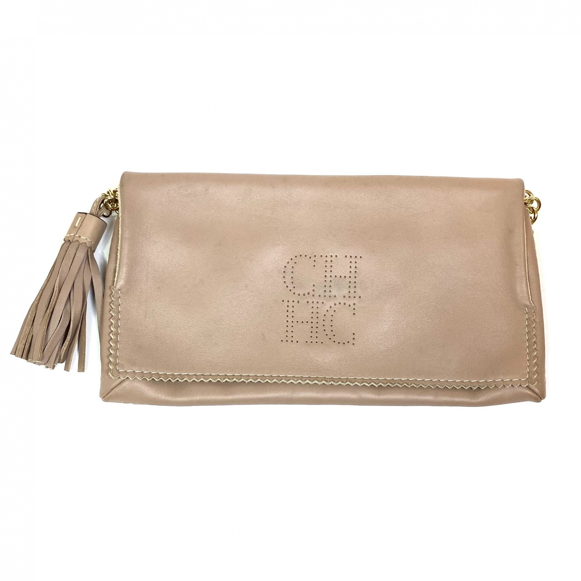 Bolsa Carolina Herrera Crossbody Nude