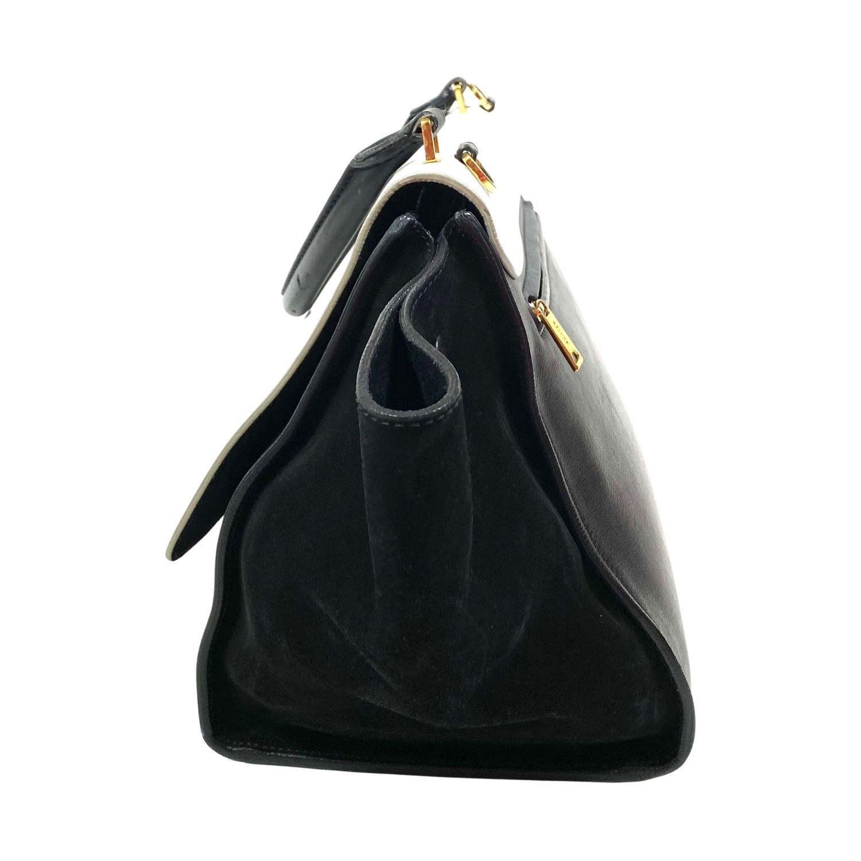 Bolsa Celine Trapeze Bicolor