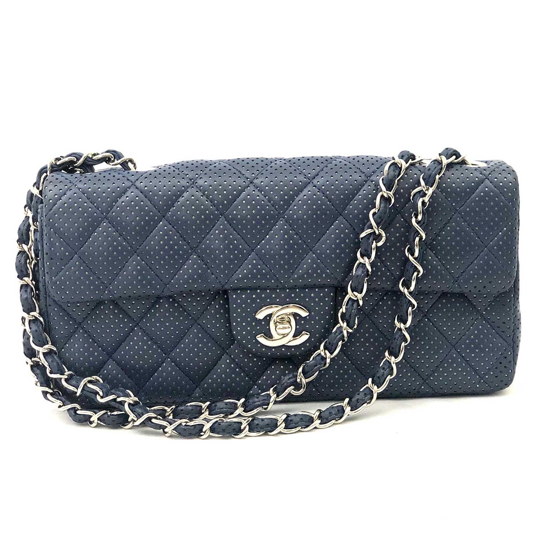 a7c2fb13d Bolsa Chanel 2.55 Marinho - Inffino