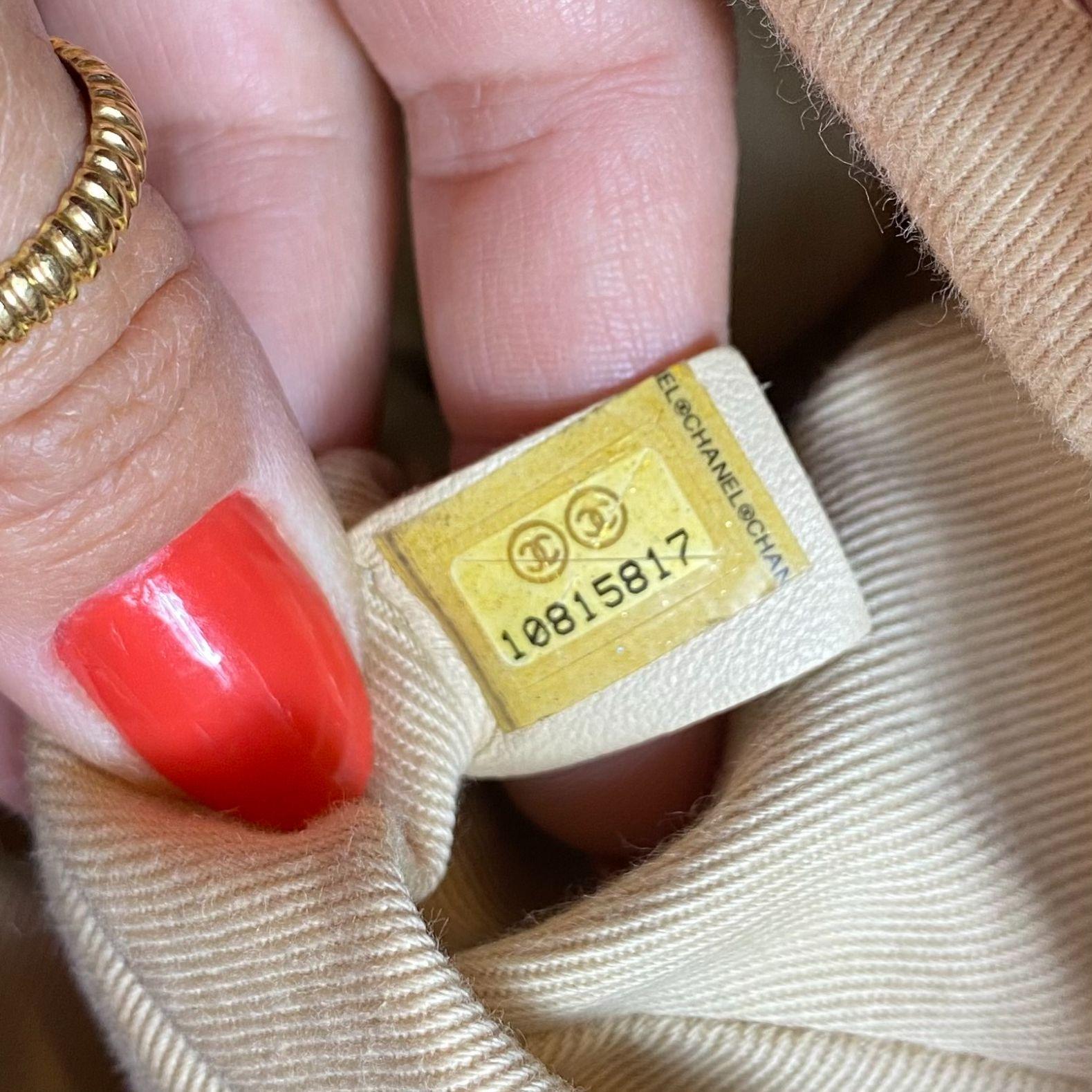Bolsa Chanel Bowler Vermelha