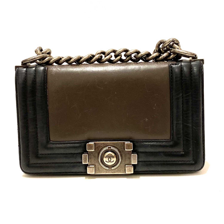 Bolsa Chanel Boy Mini Preta