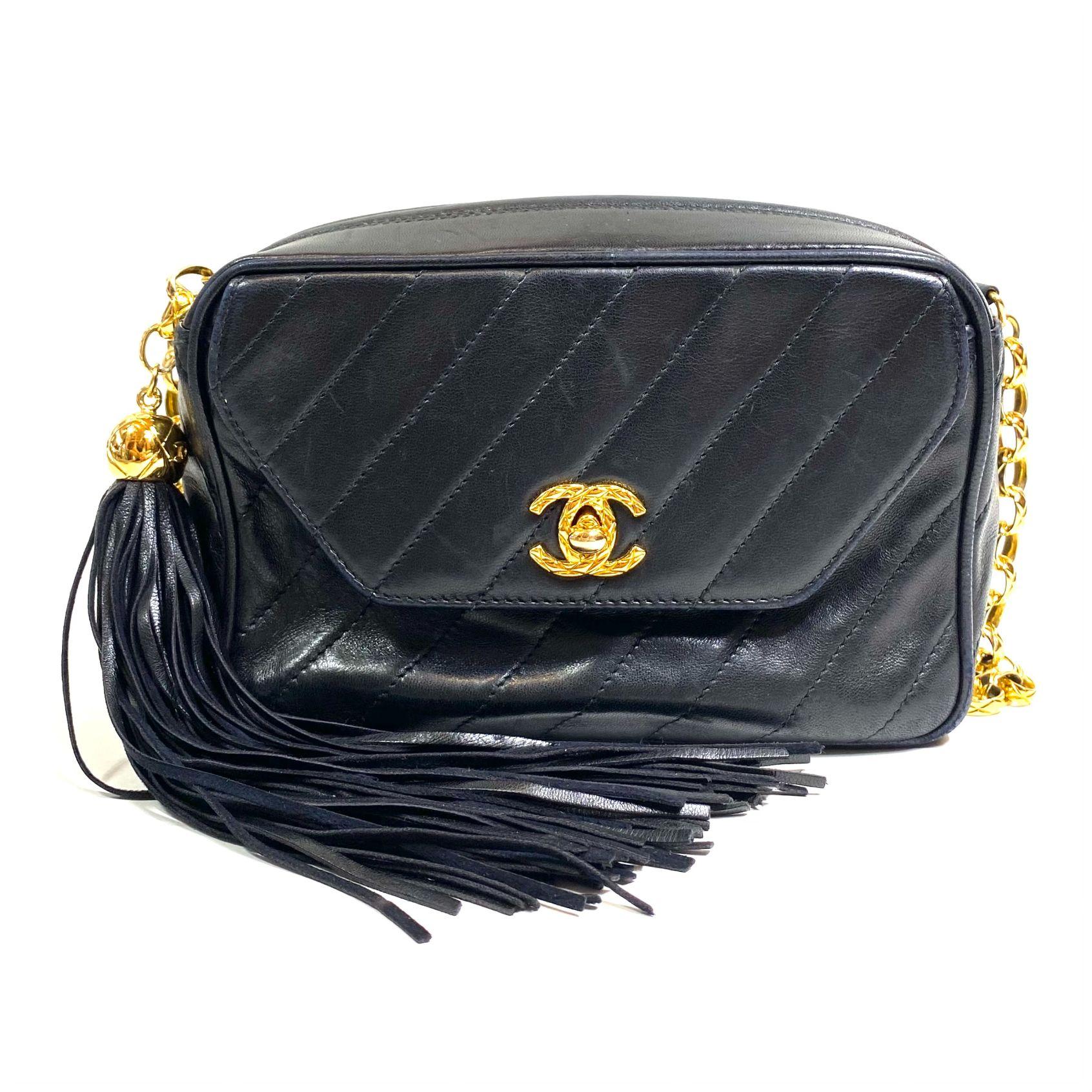Bolsa Chanel CC Camera Preta