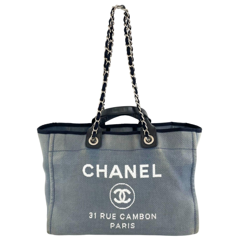 Bolsa Chanel Denim Deauville