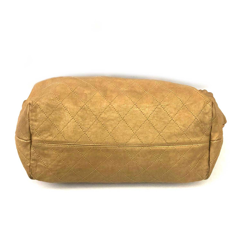 Bolsa Chanel Baby Coco Cabas Dourada
