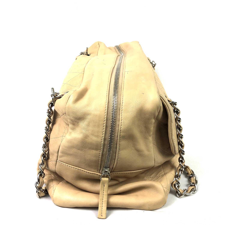Bolsa Chanel Matelassê Beige