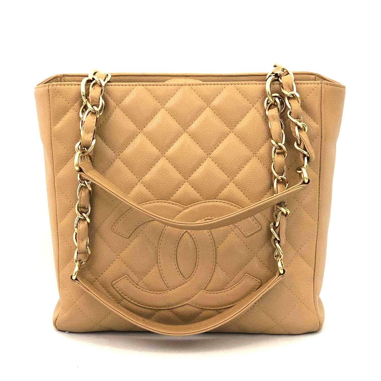 Bolsa Chanel Petit Shopper Beige