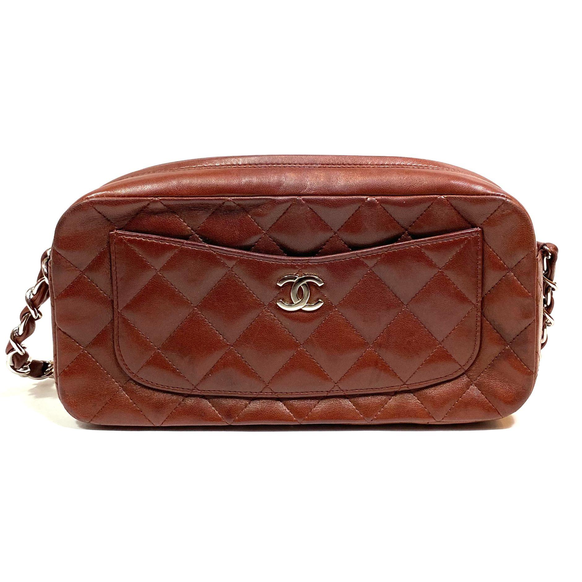 Bolsa Chanel Quilted CC Ferrugem