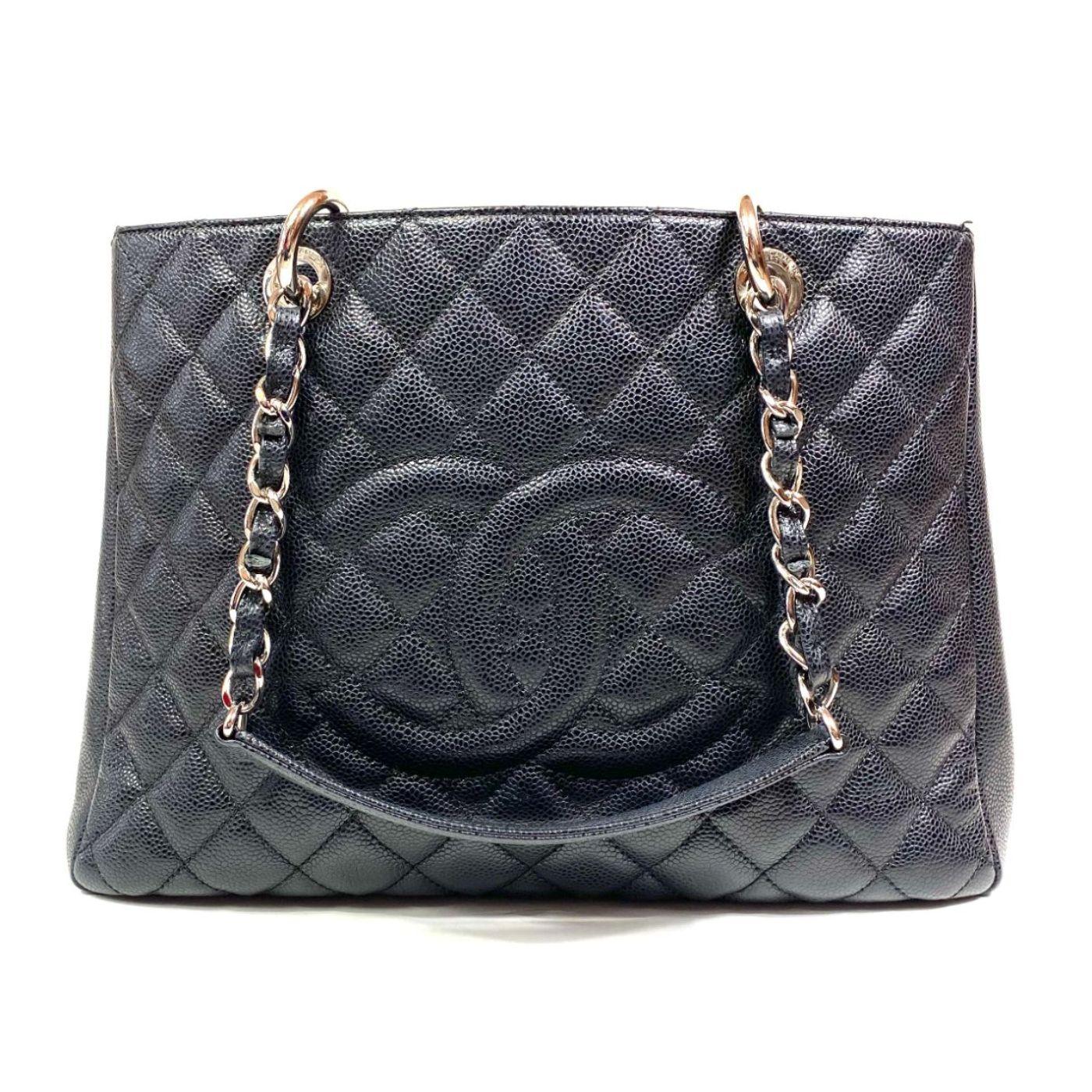 Bolsa Chanel Shopper Matelassê Preta