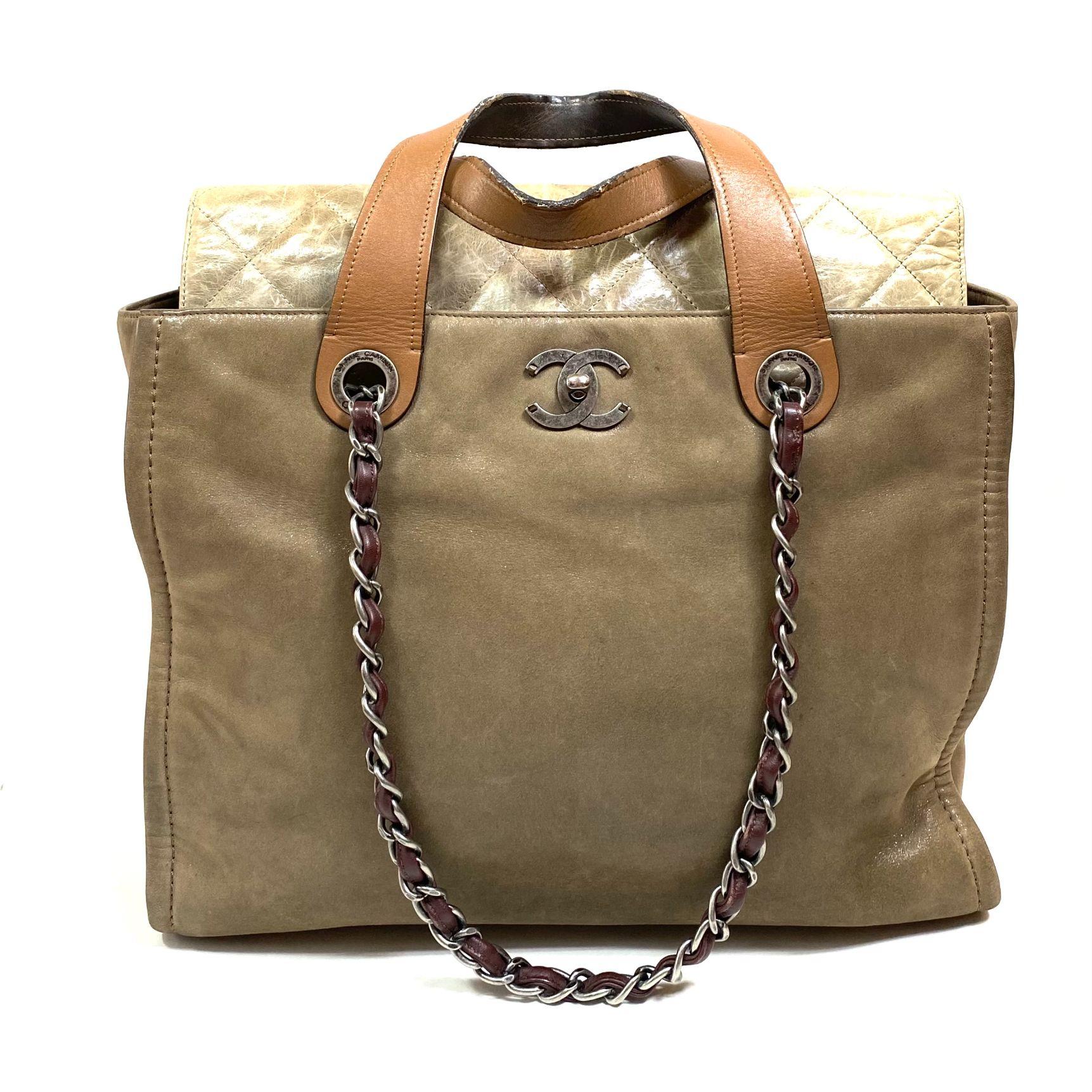 Bolsa Chanel Tote Beige